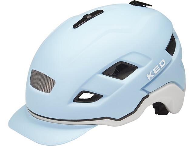 KED Berlin Helmet, lightblue ash matt